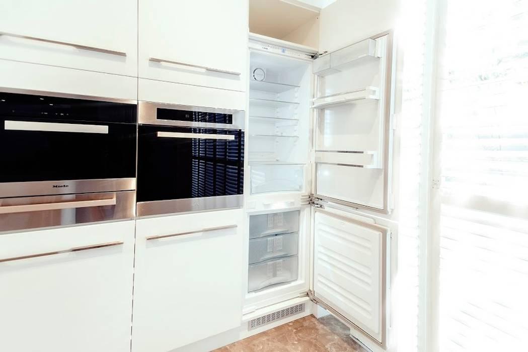 德川名廚 x 系統家具 Kitchen units White