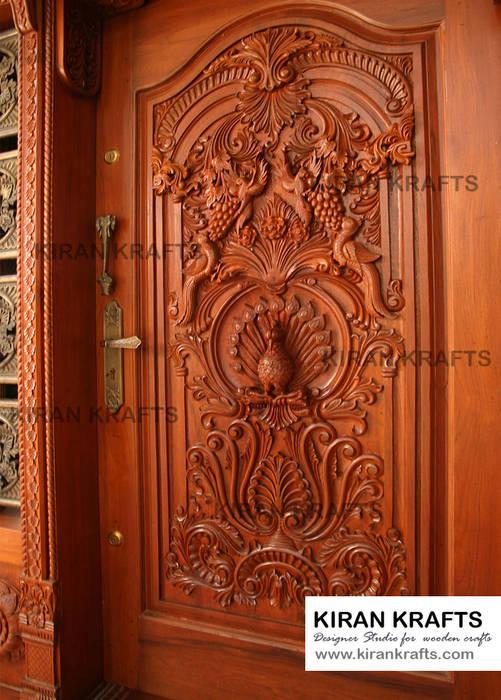 Ordinaire Carved Main Door: Wooden Doors By Kiran Enterprises | Homify