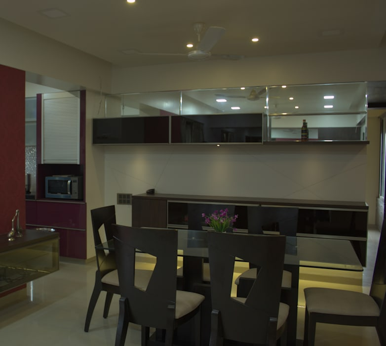 Dinning Area Modern dining room by Area Planz Design Modern