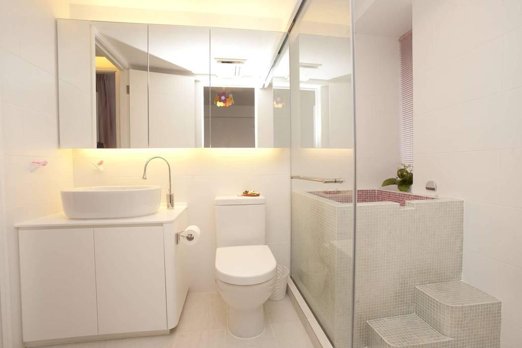 Tregunter Tower Modern bathroom by Clifton Leung Design Workshop Modern