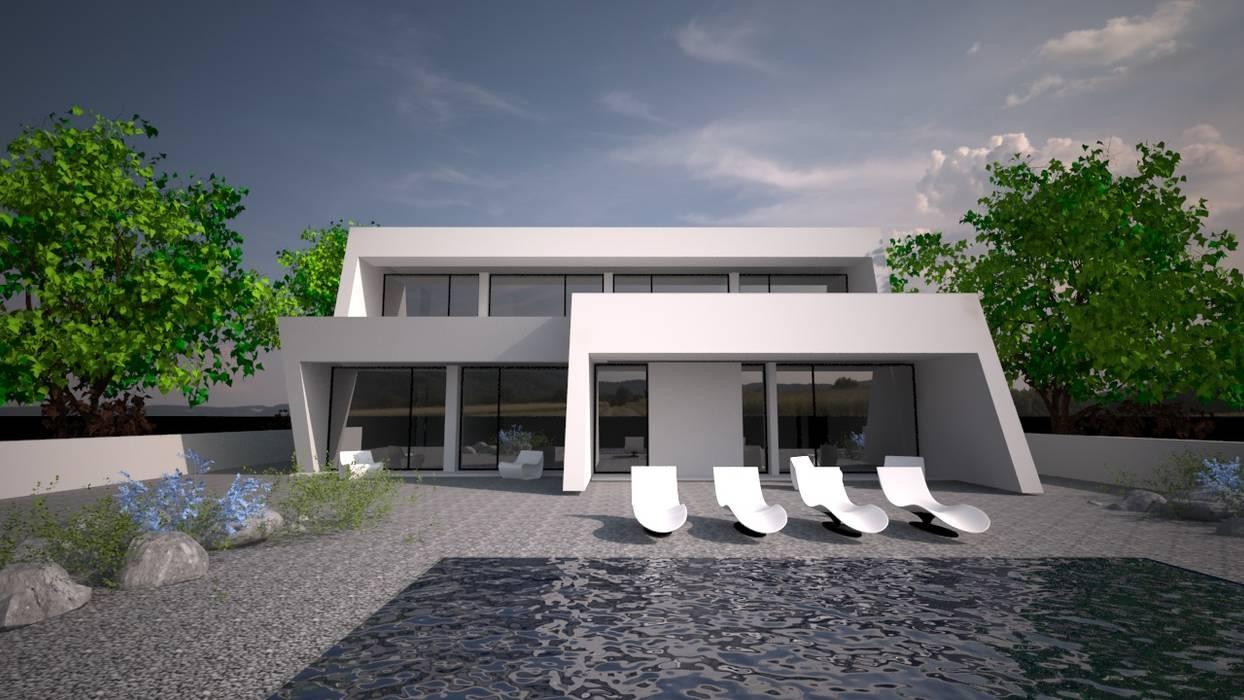 Sintra - SRF Lote 16: Moradias  por Andreia Anjos - Arquitectura, Design e Construção,