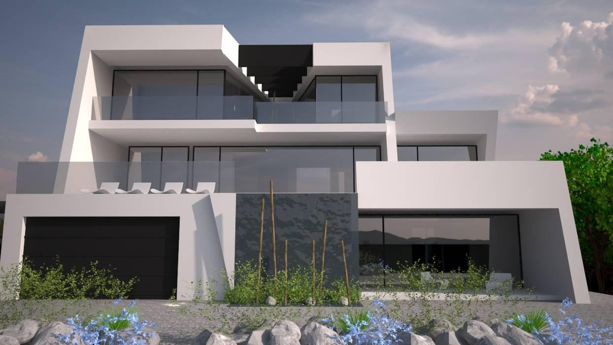 Sintra - SRF Lote 15: Moradias  por Andreia Anjos - Arquitectura, Design e Construção,