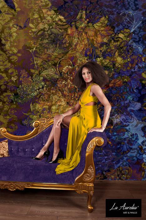 Allure - Classy Wallpaper by La Aurelia From the 'Prestige' Collection:  Muren & vloeren door La Aurelia ,