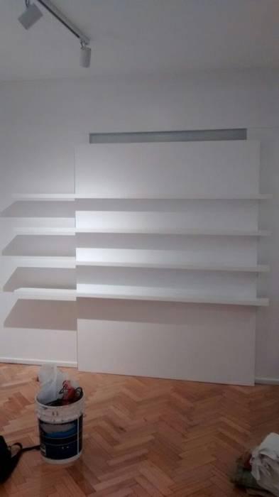 Mueble estanteria: Livings de estilo minimalista por Nestorcahu