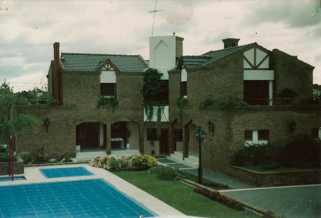 Kabin oleh Estudio D3B Arquitectos, Klasik Batu Bata