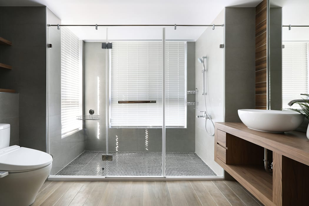 Eclectic style bathroom by 喬克諾空間設計 Eclectic