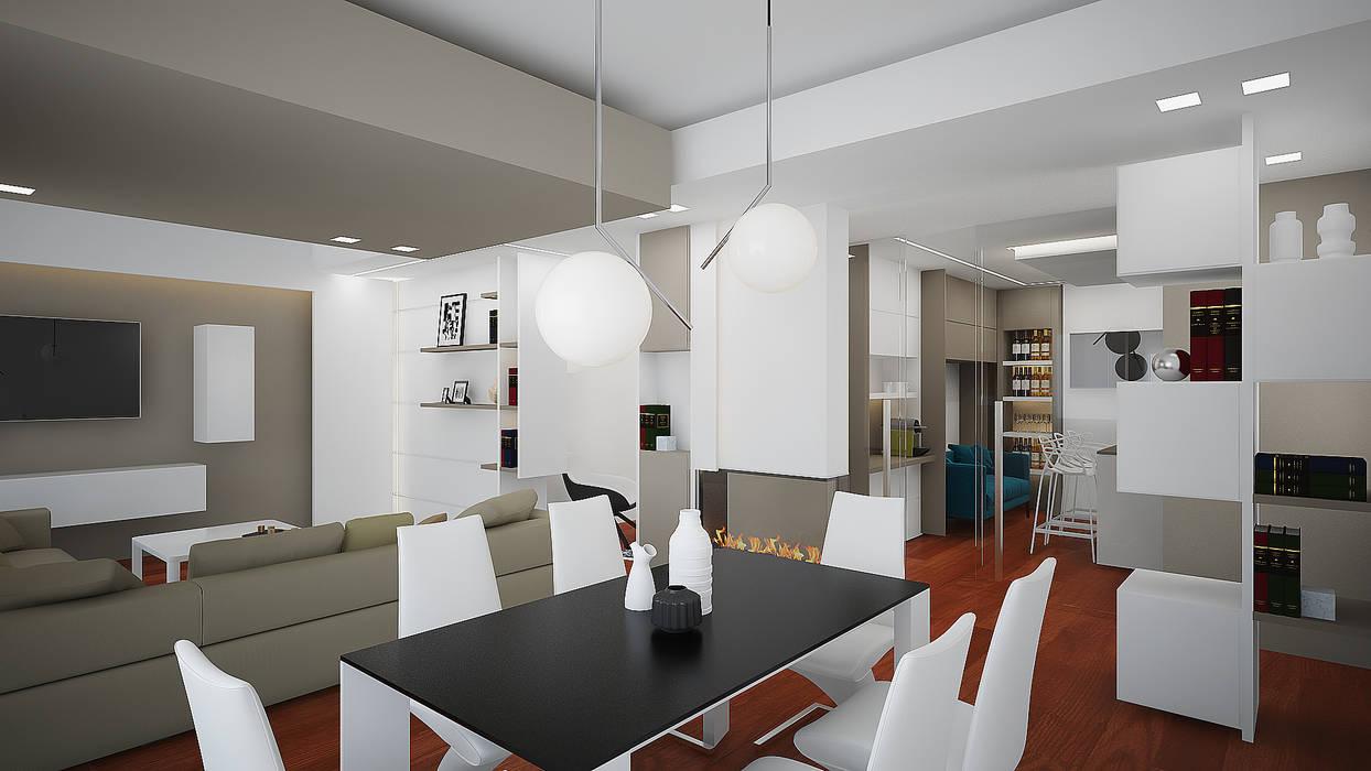 Livingroom: Soggiorno in stile  di olivia Sciuto