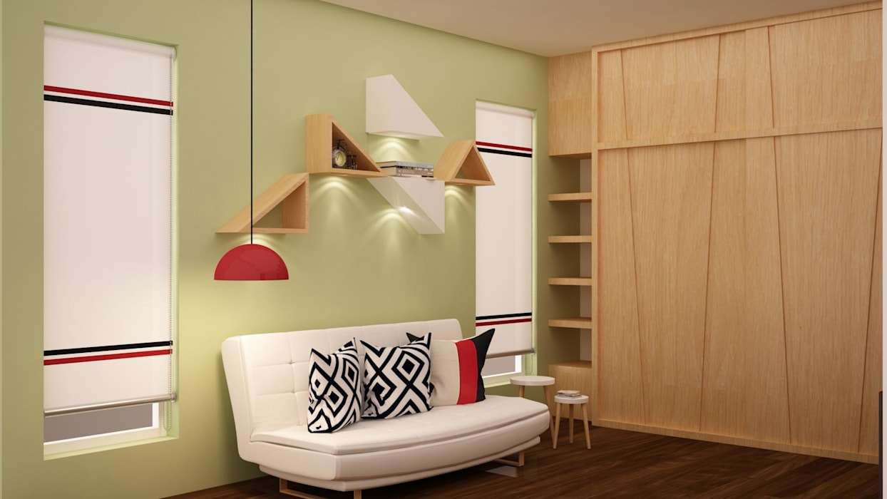 Walls by homify,