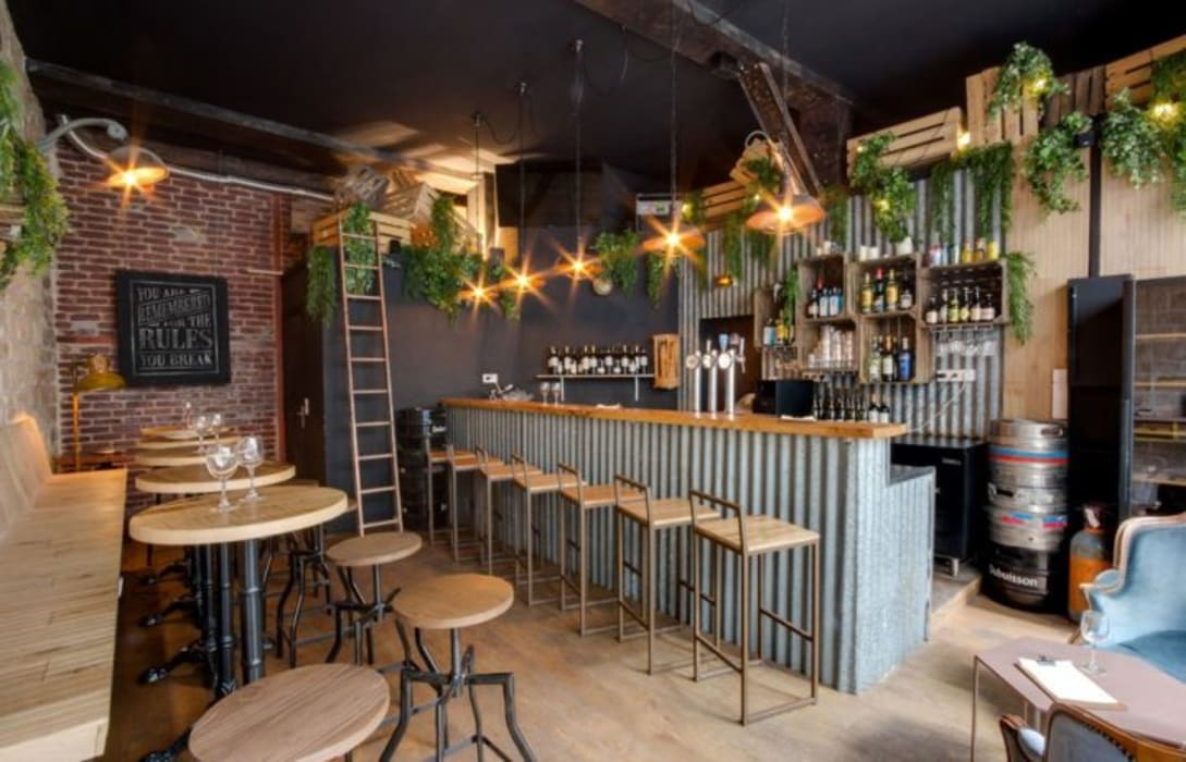 SOPHOMORE: Bares y Clubs de estilo  de MisterWils - Decoración Vintage