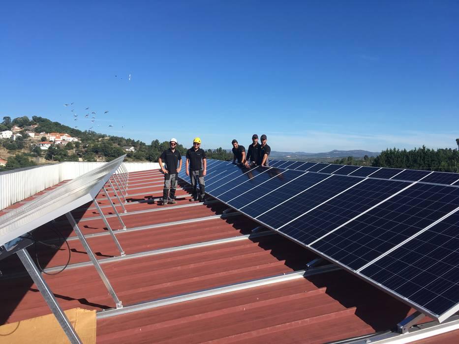 Paineis Solares Mini-Preço Sernancelhe EC2+Energias Casas pré-fabricadas