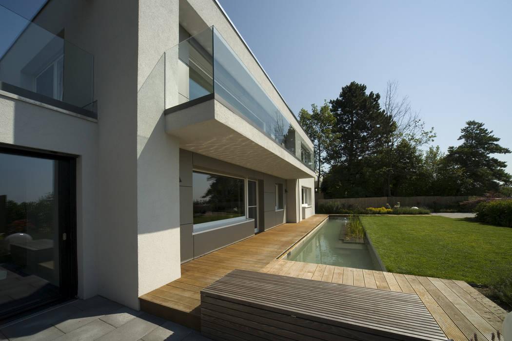 Architekturbüro zwo P Modern Terrace
