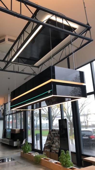 Küche im Industrie Loft Style mit berbel skyline edge:  Küche von Ebbecke GmbH - excellent einrichten