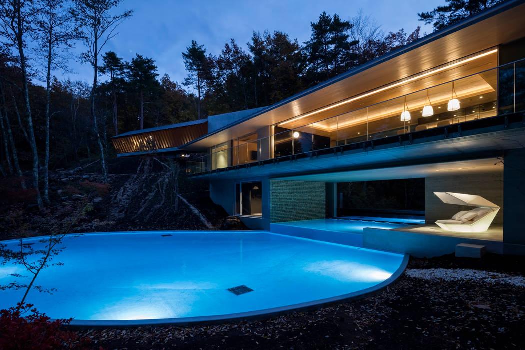 Modern houses by Mアーキテクツ|高級邸宅 豪邸 注文住宅 別荘建築 LUXURY HOUSES | M-architects Modern Concrete