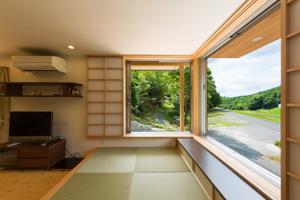 畳コーナー: 株式会社かんくう建築デザインが手掛けた和室です。