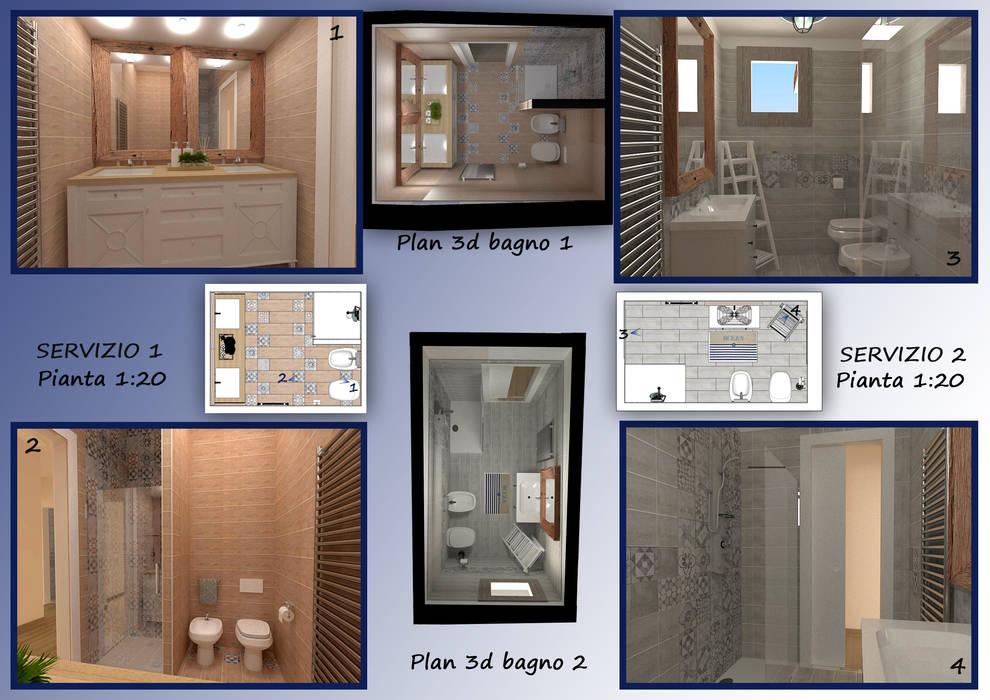 Arredamento Bagno Casa Al Mare : Arredamento casa al mare bagno in stile di valentina nencini
