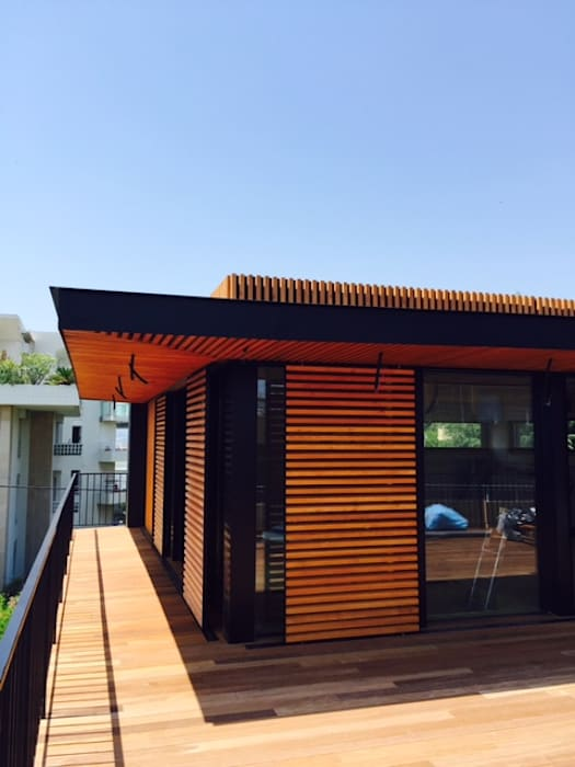 EC-BOIS | 100 projets | France + Benelux par EC-BOIS Moderne Bois Effet bois