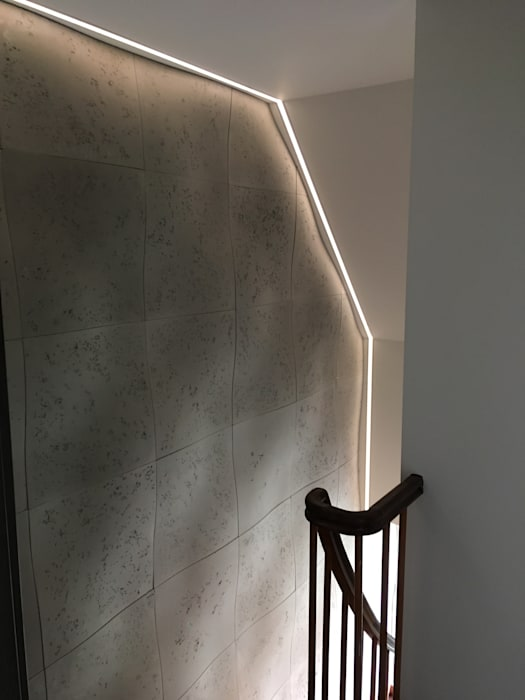 Wandgestaltung   Treppenhaus, Gang, Fluor: Wände Von Loft Design System  Deutschland