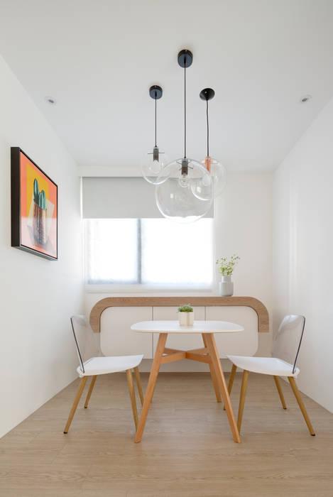 Dining room by 磨設計, Scandinavian