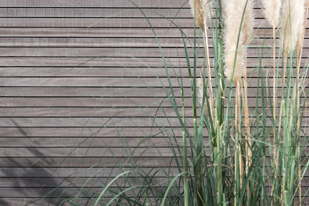 Fassade im Detail:  Einfamilienhaus von Grotegut Architekten