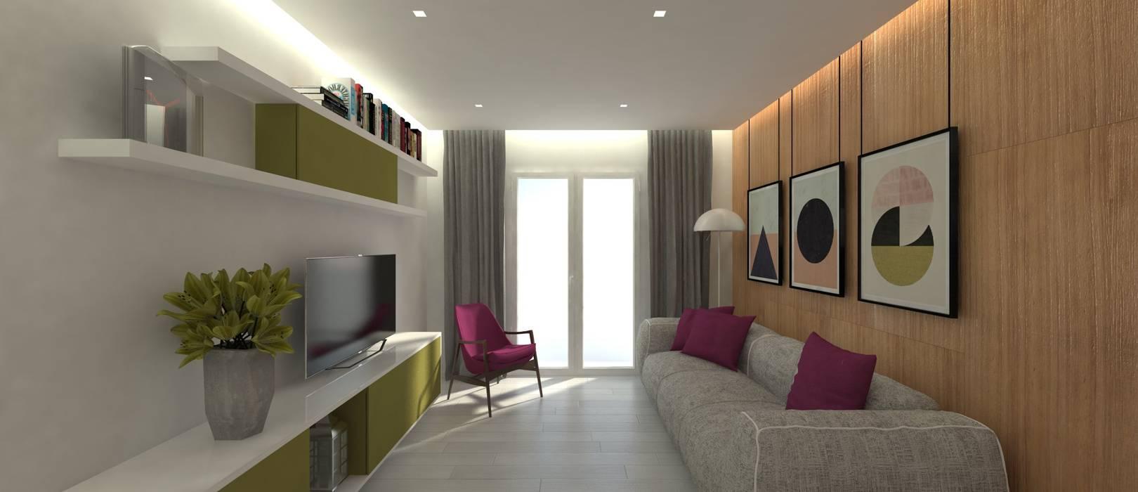 ULA architects Modern Living Room