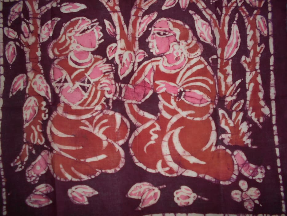 """Avail """"BENGALI VILLEGE WOMAN"""" Traditional Art by Shribas Adhikary: asian  by Indian Art Ideas,Asian"""