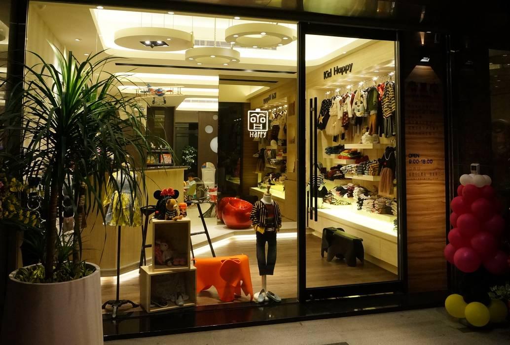 童裝服飾店 根據 沐築空間設計 北歐風