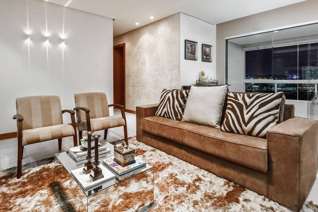 Living room by DUE Projetos e Design