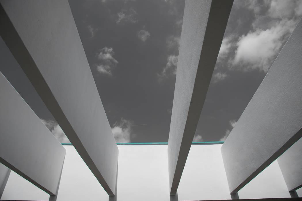 Offenes Dach:  Bungalow von Grotegut Architekten