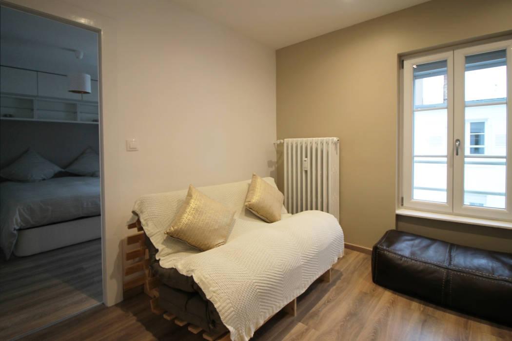 Agence ADI-HOME Вітальня