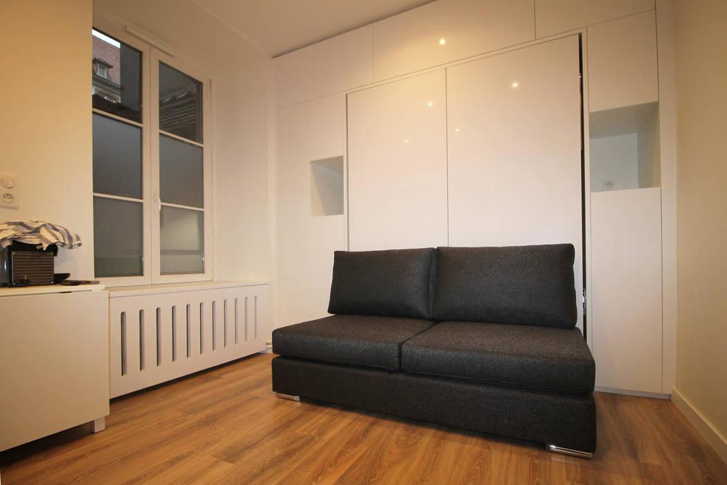 Living room by Agence ADI-HOME, Modern