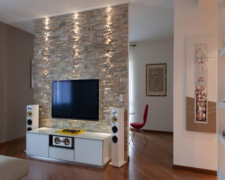 Interior design soggiorno moderno di architag studio ...