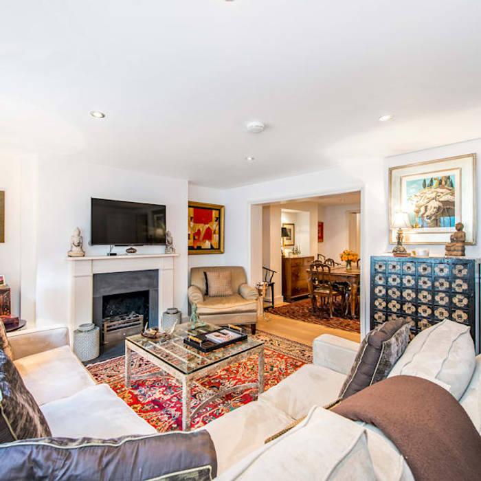 Living Room Modern Living Room by John Doe Architects Modern