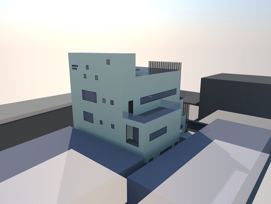 Moderne Krankenhäuser von 루아건축사사무소 Modern