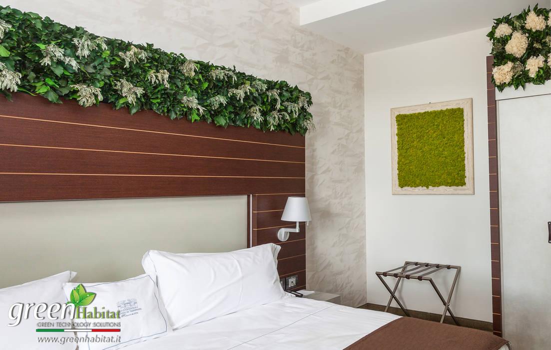TESTATA DEL LETTO GREEN: Camera da letto in stile in stile Scandinavo di Green Habitat s.r.l.