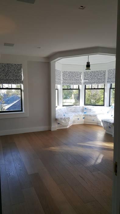Shine Star Flooring Salas multimídia modernas