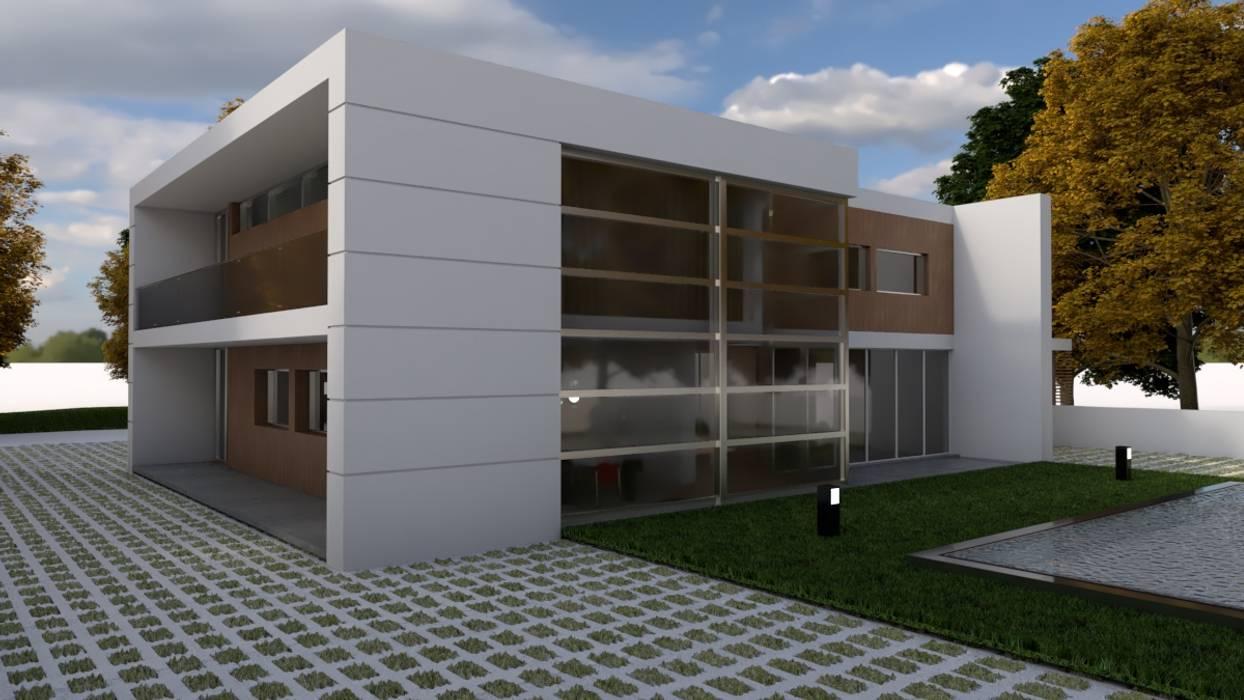 Casa Prefabbricata Design : Casa prefabbricata in stile di arbisland arquitectura design