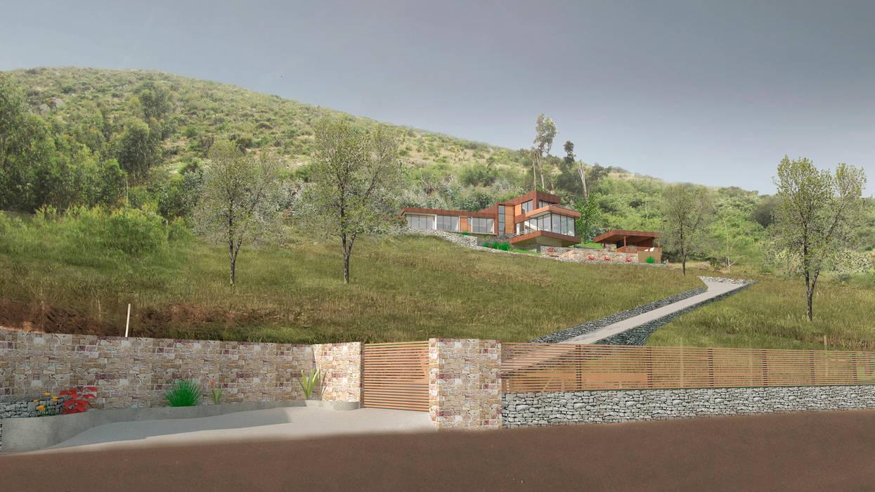 Emplazamiento. de Uno Arquitectura Moderno Madera Acabado en madera