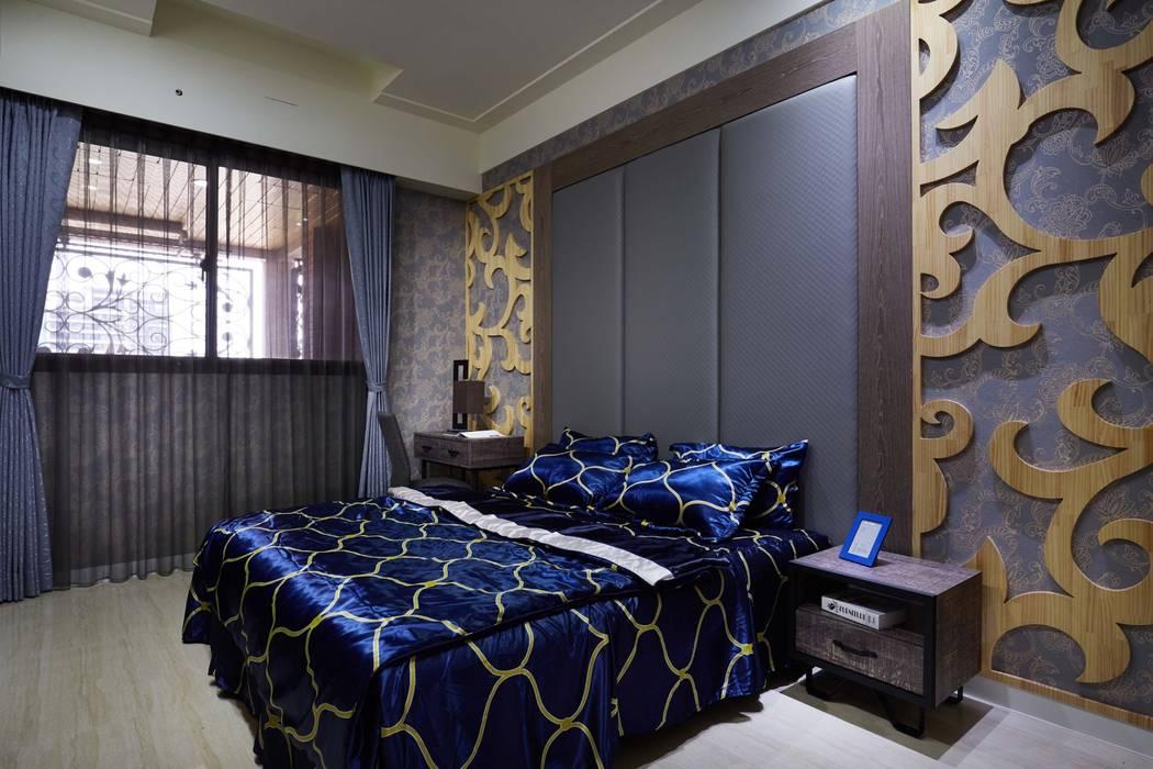 揮灑強烈且讓人印象深刻的色彩:  飯店 by 雅和室內設計