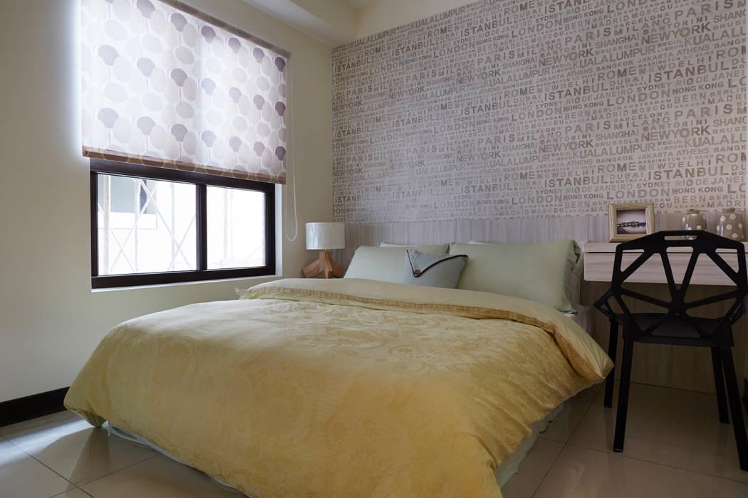 非常巧妙的運用衝突對比手法:  飯店 by 雅和室內設計