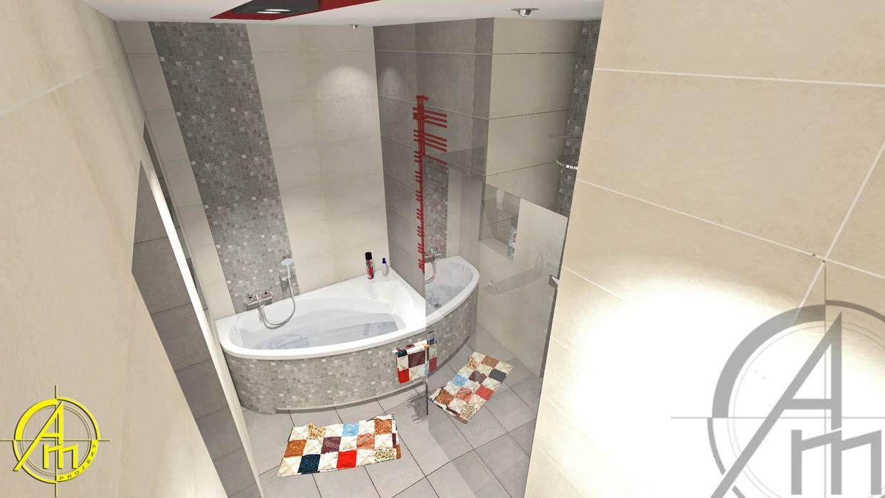 Projekt łazienki Tarnowskie Góry Styl W Kategorii