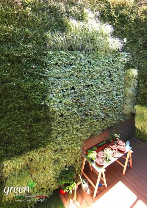 GIARDINO D'INVERNO MOZZAFIATO: Case in stile in stile Moderno di Green Habitat s.r.l.