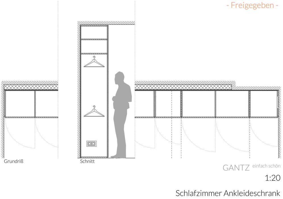 Gantz Einbauschrank Unter Dachschrage Schlafzimmer Von Gantz