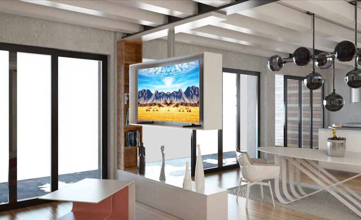 soggiorno : Soggiorno in stile in stile Moderno di 2mgdesignsolution