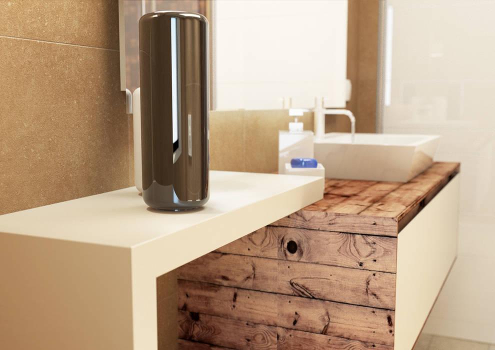 bagno: Bagno in stile in stile Moderno di 2mgdesignsolution