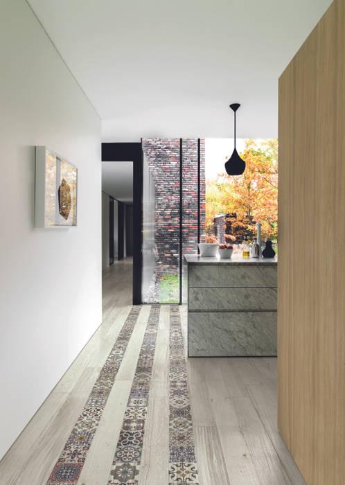 Parquet decorato in cucina per una casa da sogno.: pareti ...