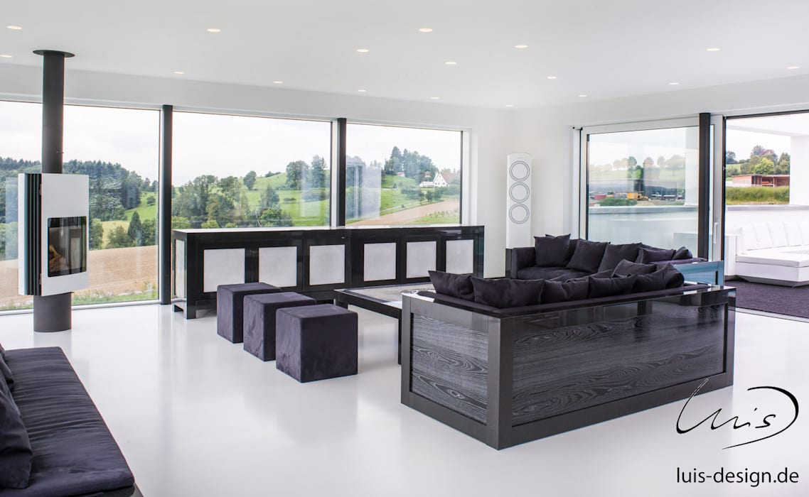 modern Living room by Luis Design