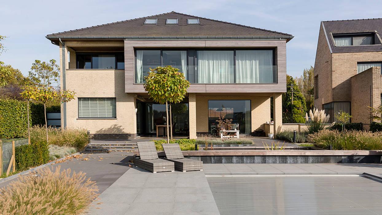 uitbreiding woonhuis:  Huizen door CHORA architecten