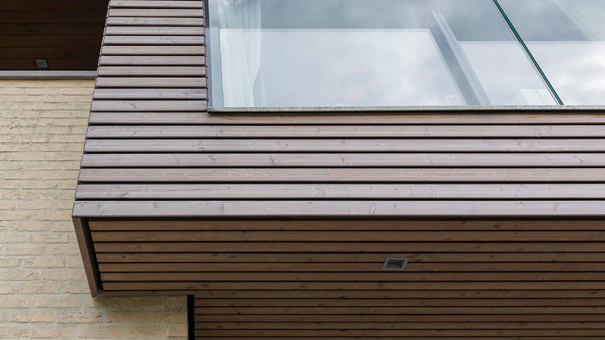 detail uitbreiding woonhuis:  Huizen door CHORA architecten