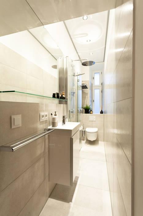Kleines bad ganz groß: schlauchbad neu gedacht : badezimmer von ...