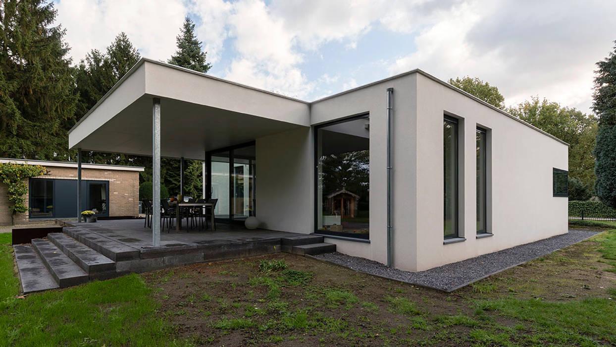 Eigentijdse villa: huizen door chora architecten homify